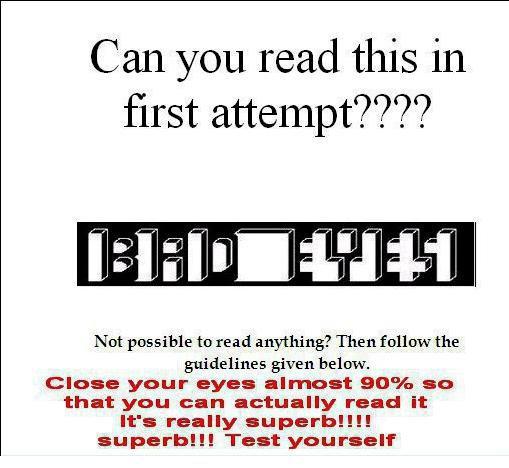 bad eye illusion | WEBTHUNDER